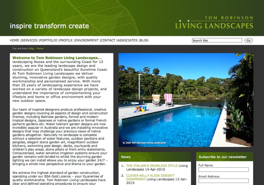 A great web design by Yeah Design Group, Sydney, Australia: