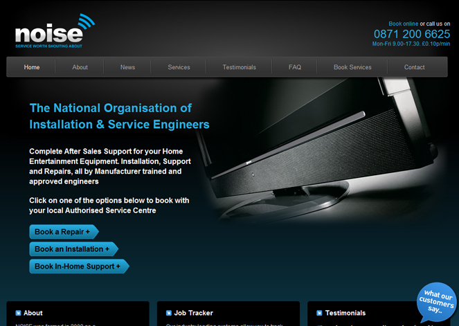 A great web design by Xcite Digital, Farnham, United Kingdom: