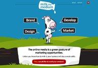 A great web design by Milk The Medium, London, United Kingdom: