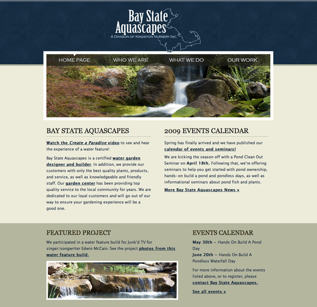 A great web design by The Green Pen, Atlanta, GA: