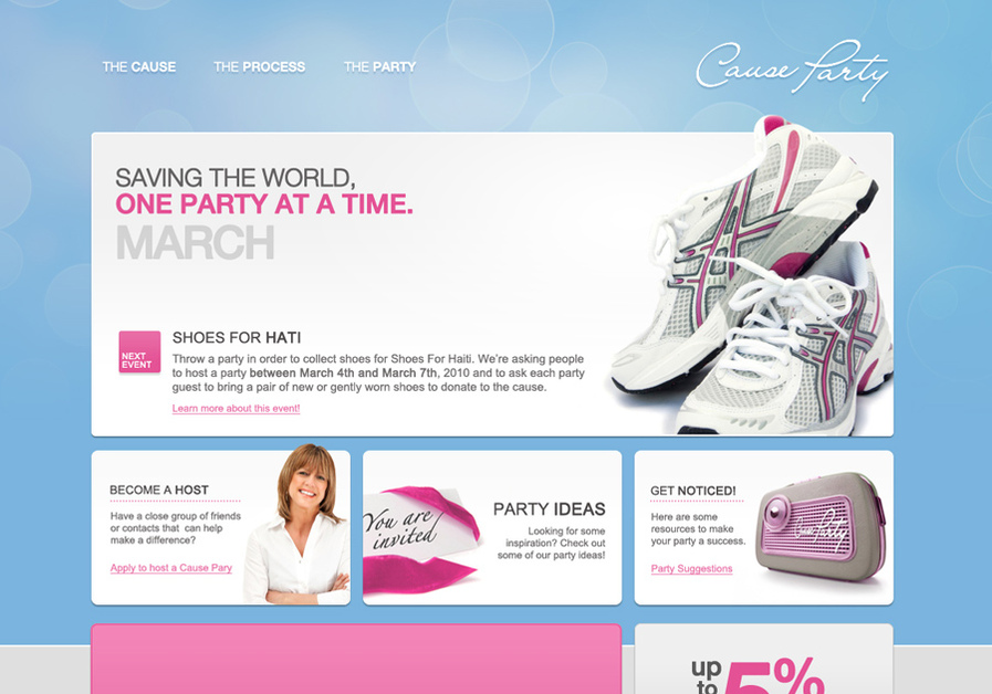 A great web design by The Number Nine Design Studios, San Antonio, TX: