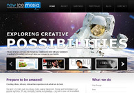 A great web design by New Ice Media, Los Angeles, CA: