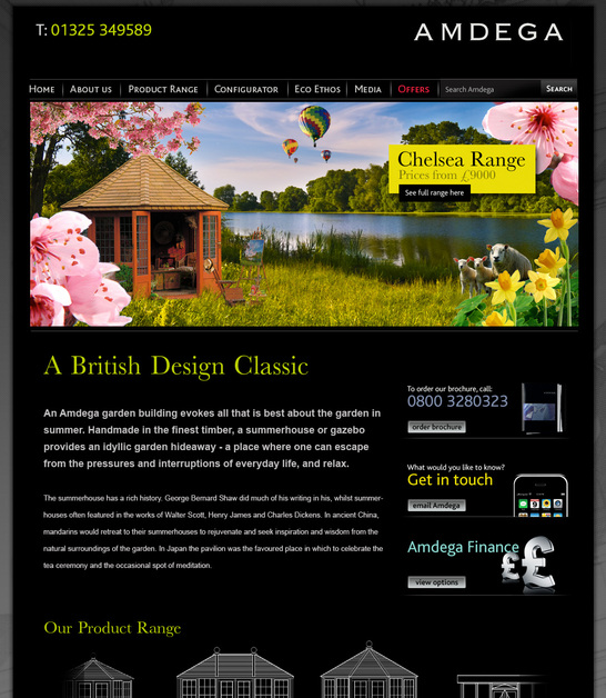 A great web design by UPPERCASEmedia, London, United Kingdom: