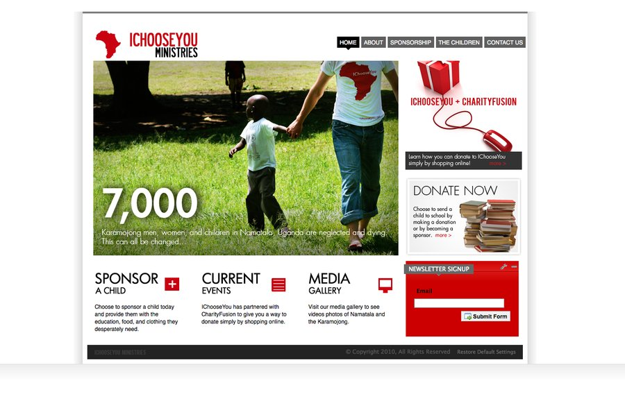 A great web design by the Ocelli Group, Dallas, TX: