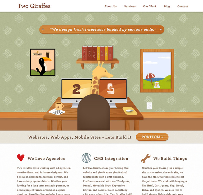 A great web design by Brandclay, Ann Arbor, MI:
