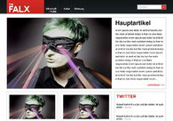 A great web design by 91media, Bielefeld, Germany: