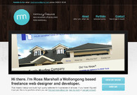A great web design by Ross Marshall, Wollongong NSW, Australia: