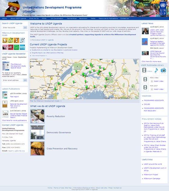 A great web design by Digital Vision, Nairobi, Kenya: