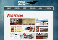 A great web design by Danny Barrett: