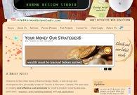 A great web design by Karma Design Studio, Toronto, Canada:
