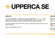 A great web design by upperca.se, Indianapolis, IN: