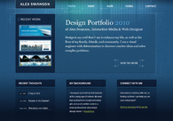 A great web design by Alex Swanson Creative , Tampa, FL: