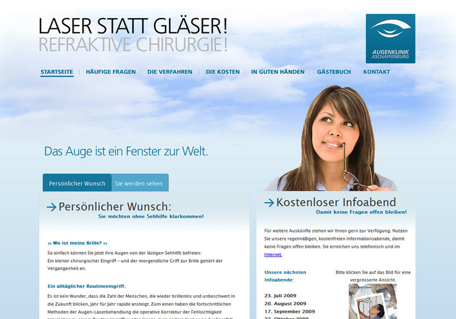 A great web design by 22sparks, Aschaffenburg Frankfurt Main Area, Germany: