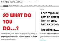 A great web design by Thinkbigbebig Media, London, United Kingdom: