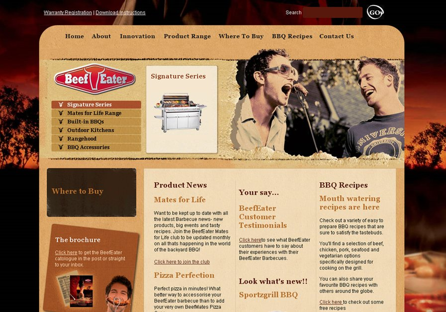 A great web design by ...toast the sun, Sydney, Australia: