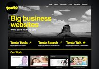 A great web design by Tonto Digital, Melbourne, Australia:
