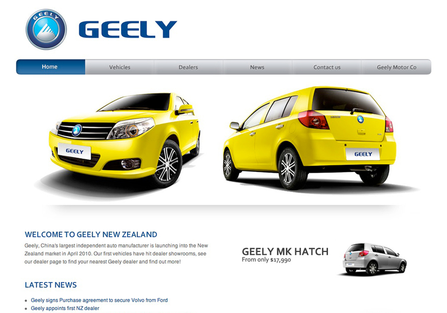 A great web design by Rocketspark, Hamilton, New Zealand: