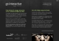 A great web design by Go Interactive, Stockholm, Sweden: