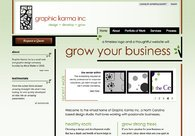 A great web design by Graphic Karma Inc., Raleigh, NC: