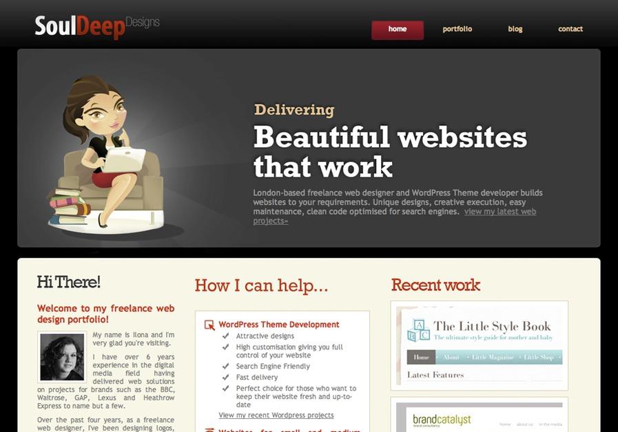 A great web design by London Freelance Web Designer, London, United Kingdom: