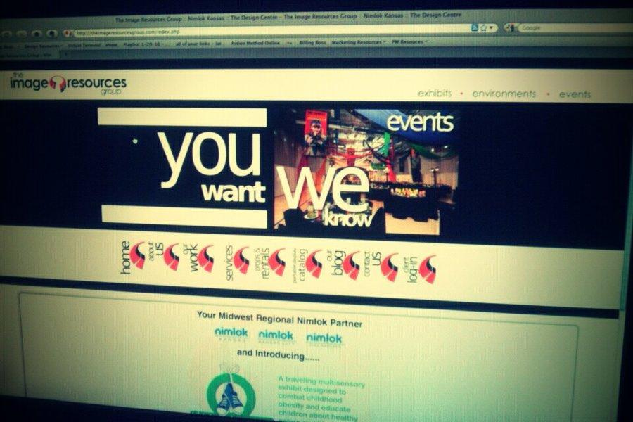 A great web design by Go Banana, Wichita, KS: