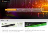A great web design by Legible Media: