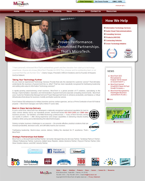 A great web design by Mark Crabill, Washington DC, DC: