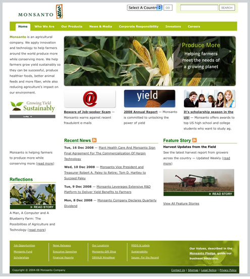 A great web design by W Creative, St Louis, MO: