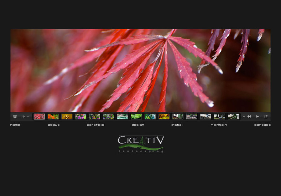 A great web design by Chip Chuck Design, Athens, GA: