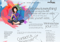 A great web design by Phoenix Digital Arts, Leicester, United Kingdom: