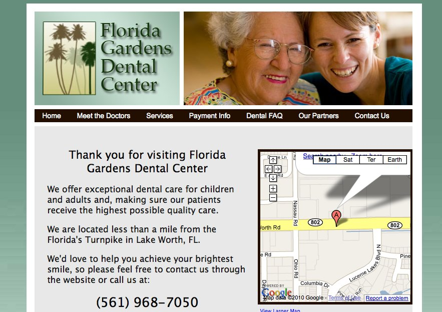 A great web design by Trish Sheppard, San Diego, CA: