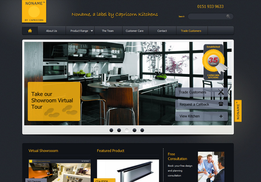 A great web design by QuadroNation, Liverpool, United Kingdom: