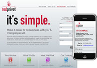 A great web design by Red Privet, LLC, Harrisburg, PA: