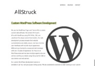 A great web design by AllStruck, Chandler, AZ: Website, Portfolio , Technology , Wordpress