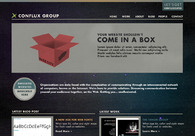 A great web design by Conflux Group, Inc., Philadelphia, PA: