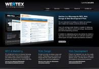A great web design by Webtex, Minneapolis, MN: