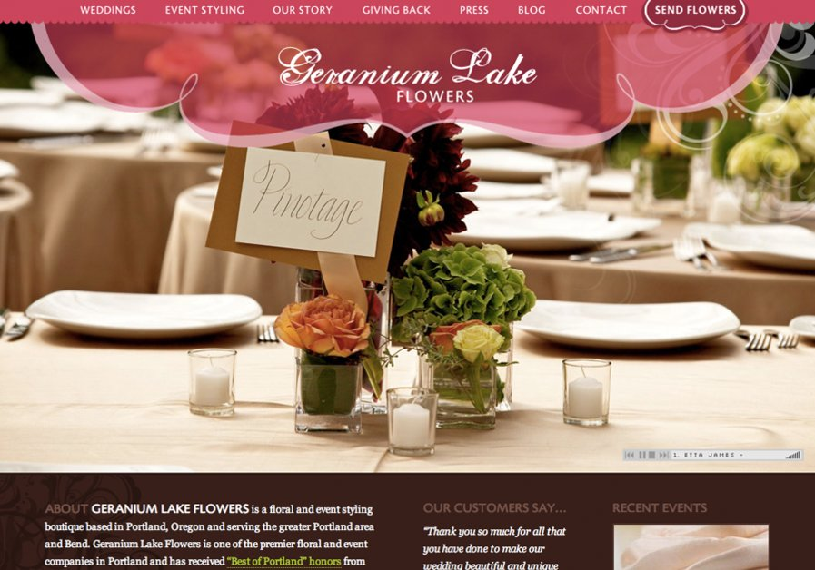 A great web design by Allie Creative, Portland, OR:
