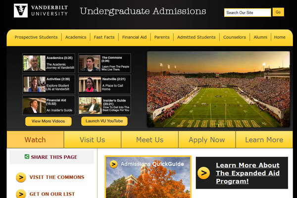 A great web design by Zion Eye Media, Nashville, TN: