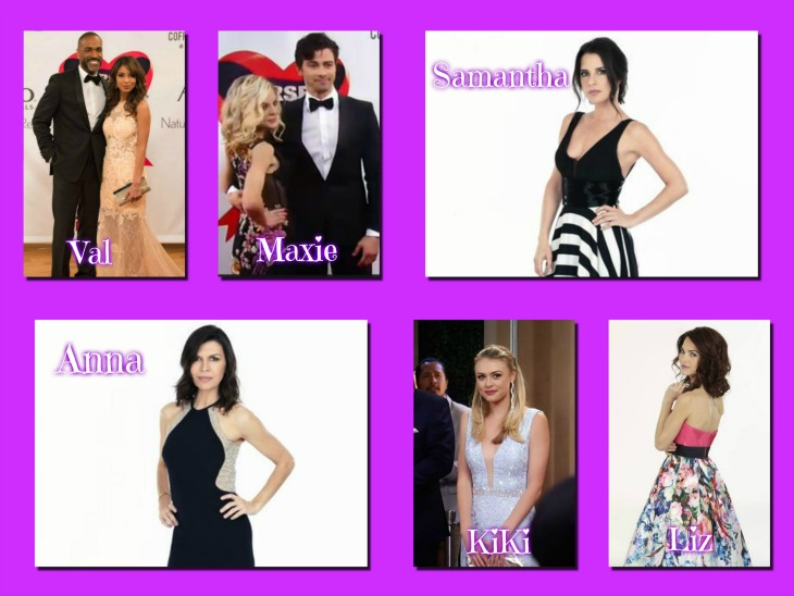 General Hospital Poll Which Gh Lady Was The Best Dressed At The 2016 Nurses Ball Vote Soap Opera Spy
