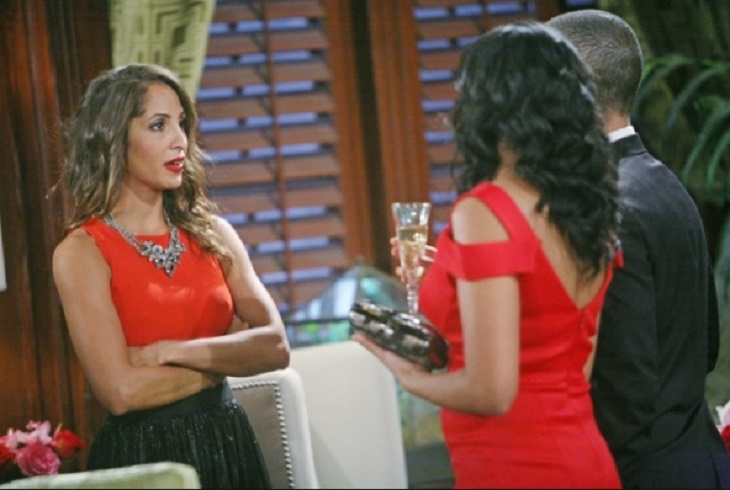what nationality is Christel Khalil from young and the restless