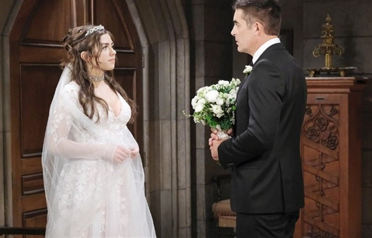 Days Of Our Lives News Update Dool Fans Split Over Ciara Brady S Wedding Dress Soap Opera Spy,Plus Size White Short Wedding Dress
