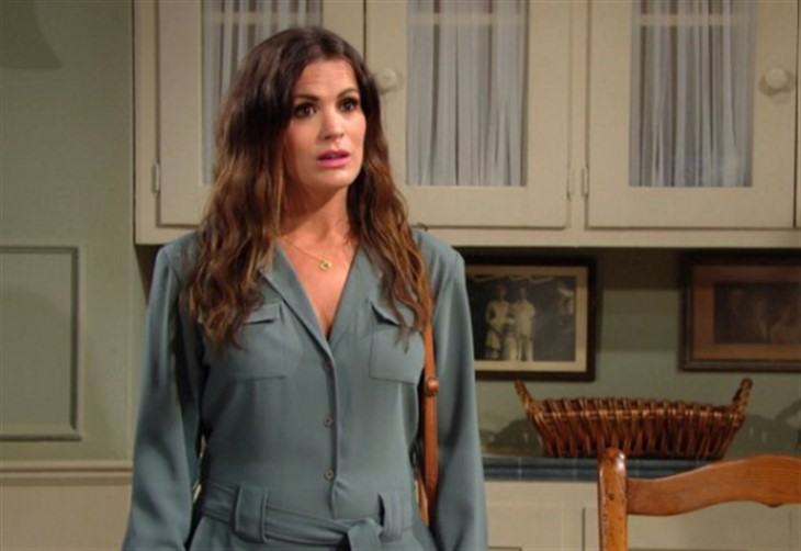 The Young And The Restless Spoilers Chelsea Panics As Adam And Sharon Grow Closer Soap Opera Spy