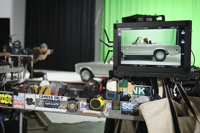 Picture Car on set