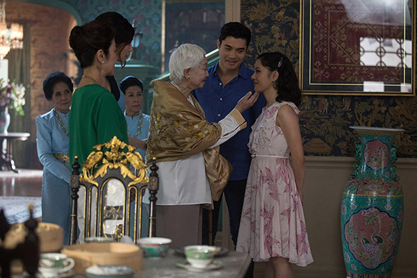 Crazy Rich Asians Family Meeting