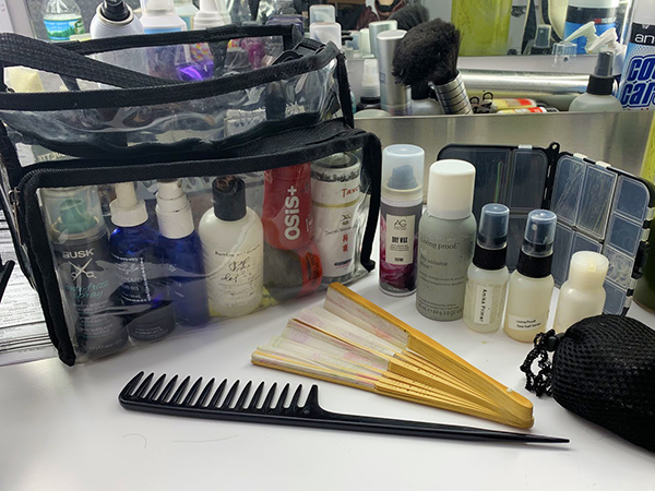 Your Sneak Peek Inside the Kit of a Hollywood Hairstylist