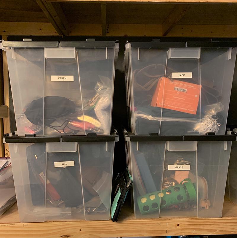 Contico storage for Will & Grace