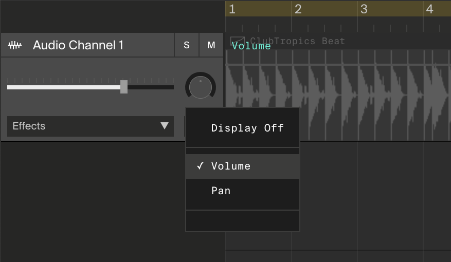 Soundation — Learn | How-to: Fade in or out