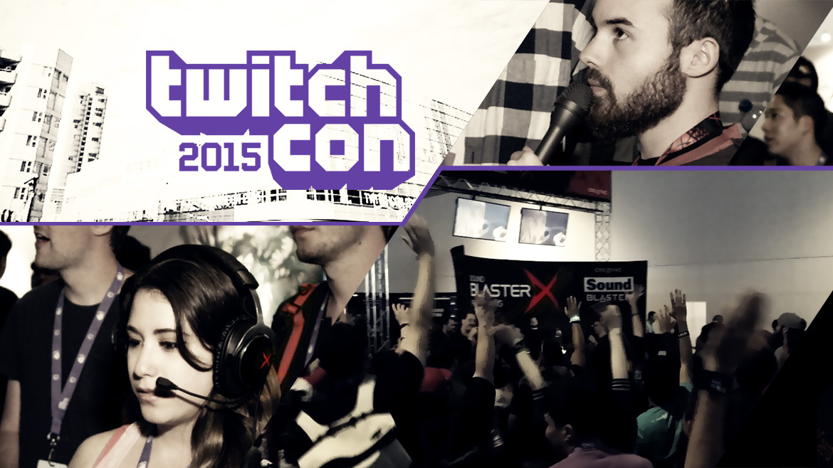 Sound BlasterX Goes to TwitchCon 2015, the First Ever Convention Held in San Francisco!