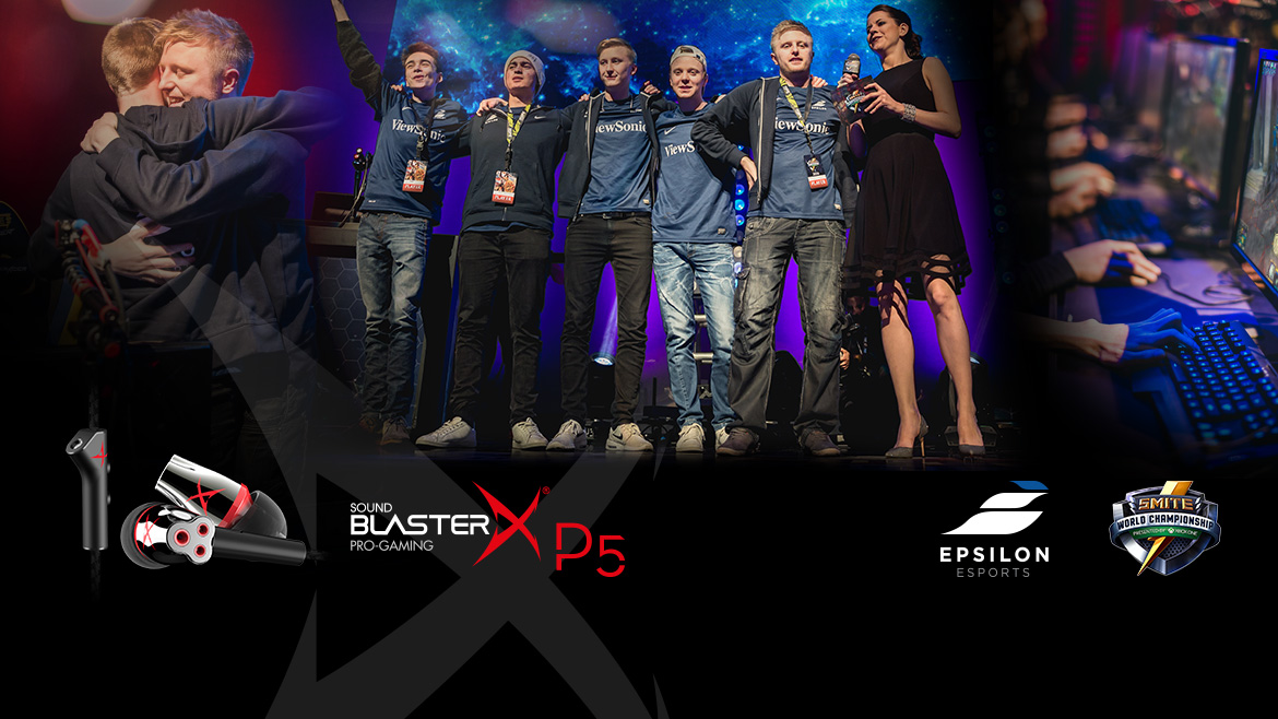 Sound Blaster Talks To Epsilon eSports