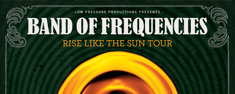 Rise Like the Sun Tour A3 Poster